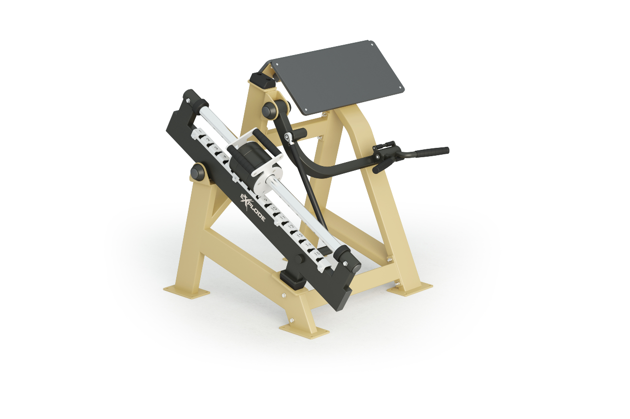 Inter Atletika Biceps Machine Galvanized