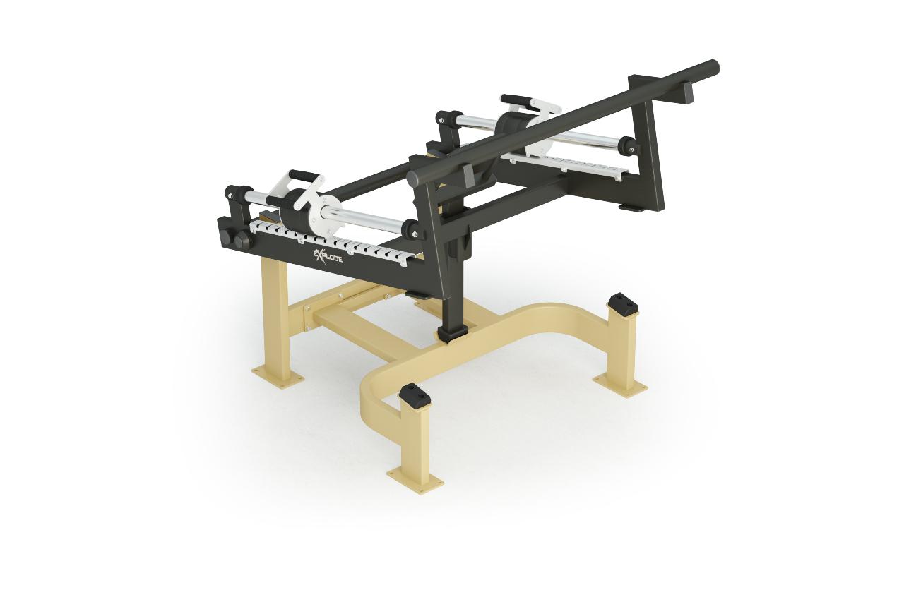 Inter Atletika Squat Machine Galvanized