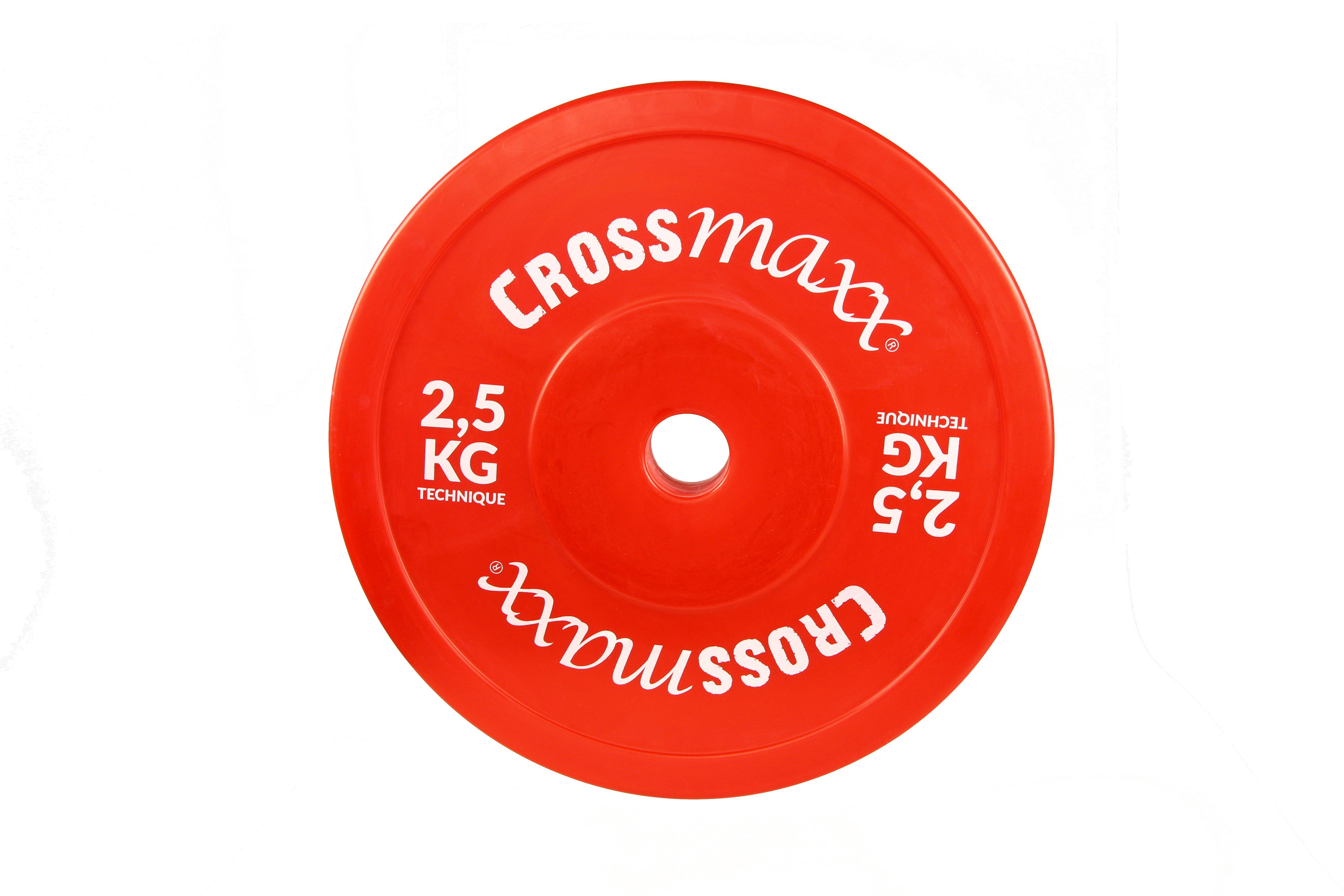 Crossmaxx Hollow Teknik Vægtskive 2,5 kg Red