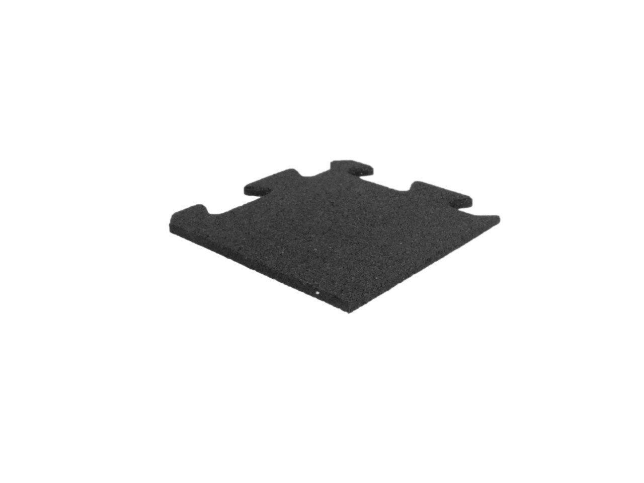 Lifemaxx ECO Puzzle Gummiflise Hjørne 25 x 25 x 1 cm