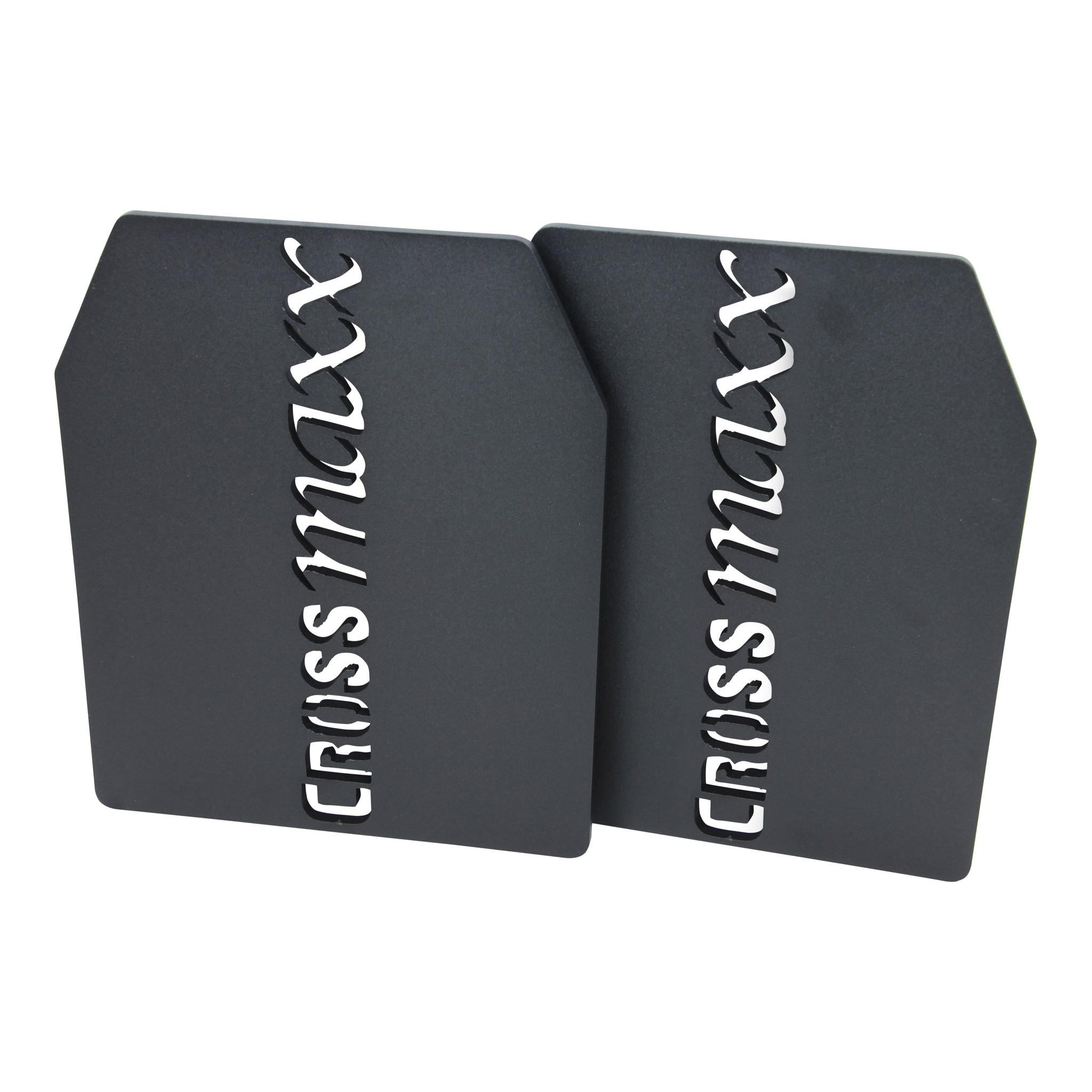 Crossmaxx Tactical Vægtplader til Vægtvest 1,7 kg (Sæt)
