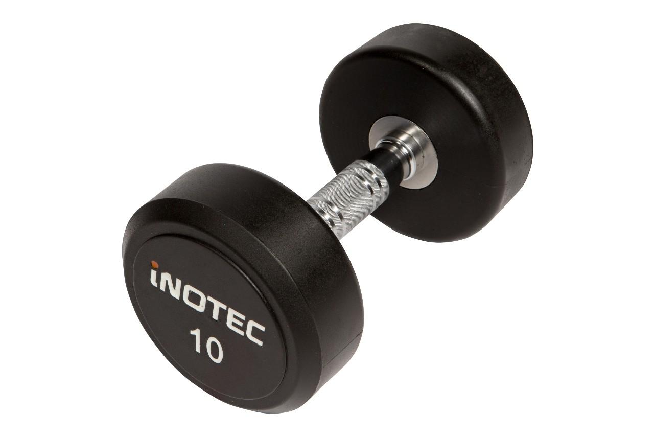 Inotec Gummi Håndvægt 12,5 kg