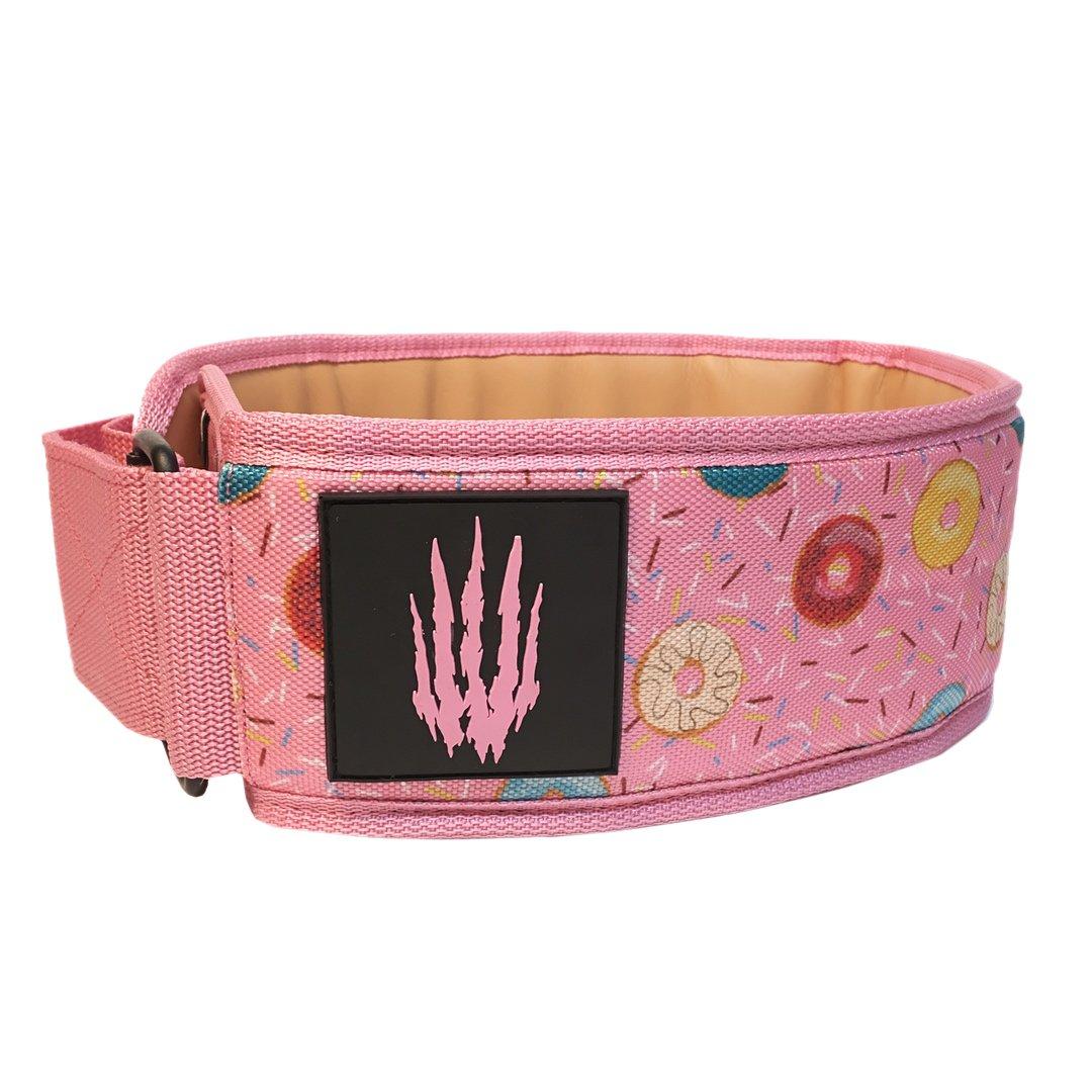 Bear KompleX Apex Premium Læder Vægtløftningsbælte Pink