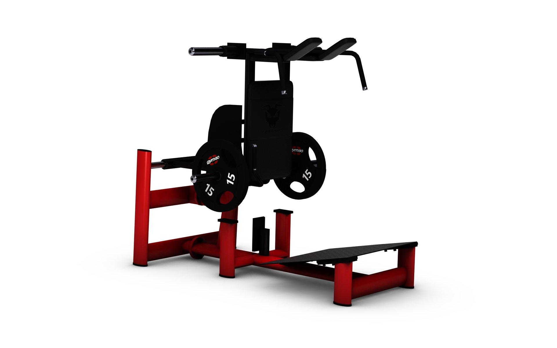 gym80 Pure Kraft Squat Machine