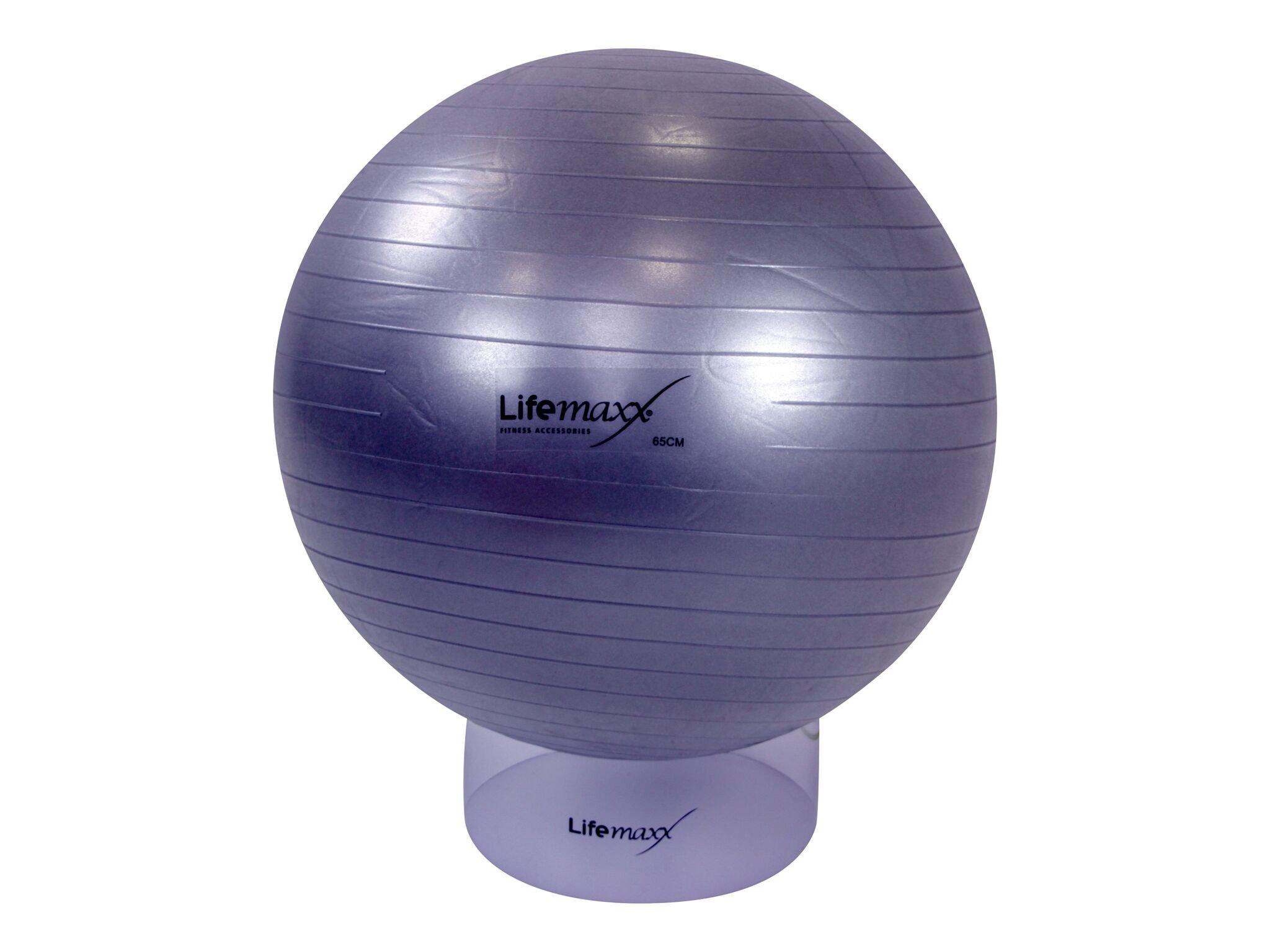 LMX. Træningsbold 55 cm Silver