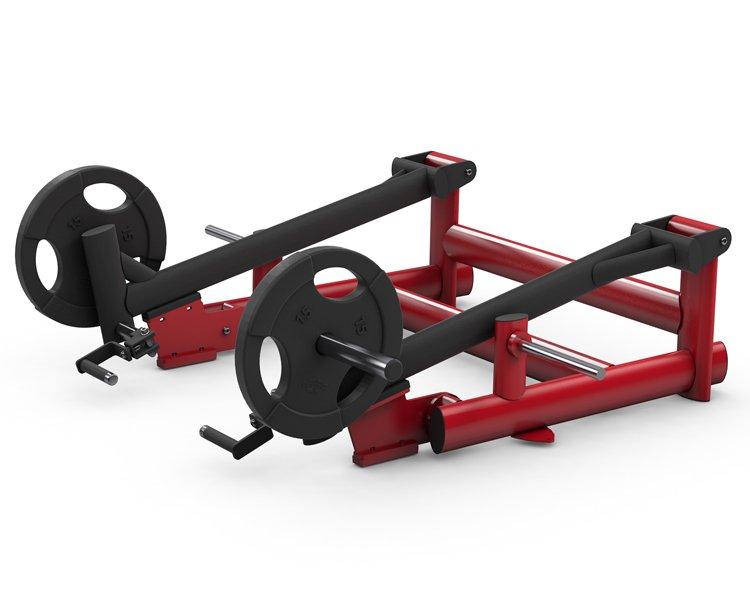 gym80 Pure Kraft Deadlift Rotating Grips Dual