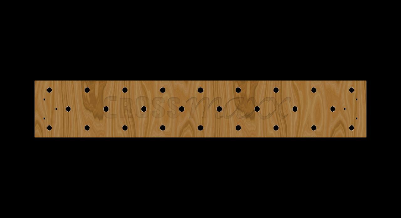 Crossmaxx XL Peg board F/Rig 180 cm
