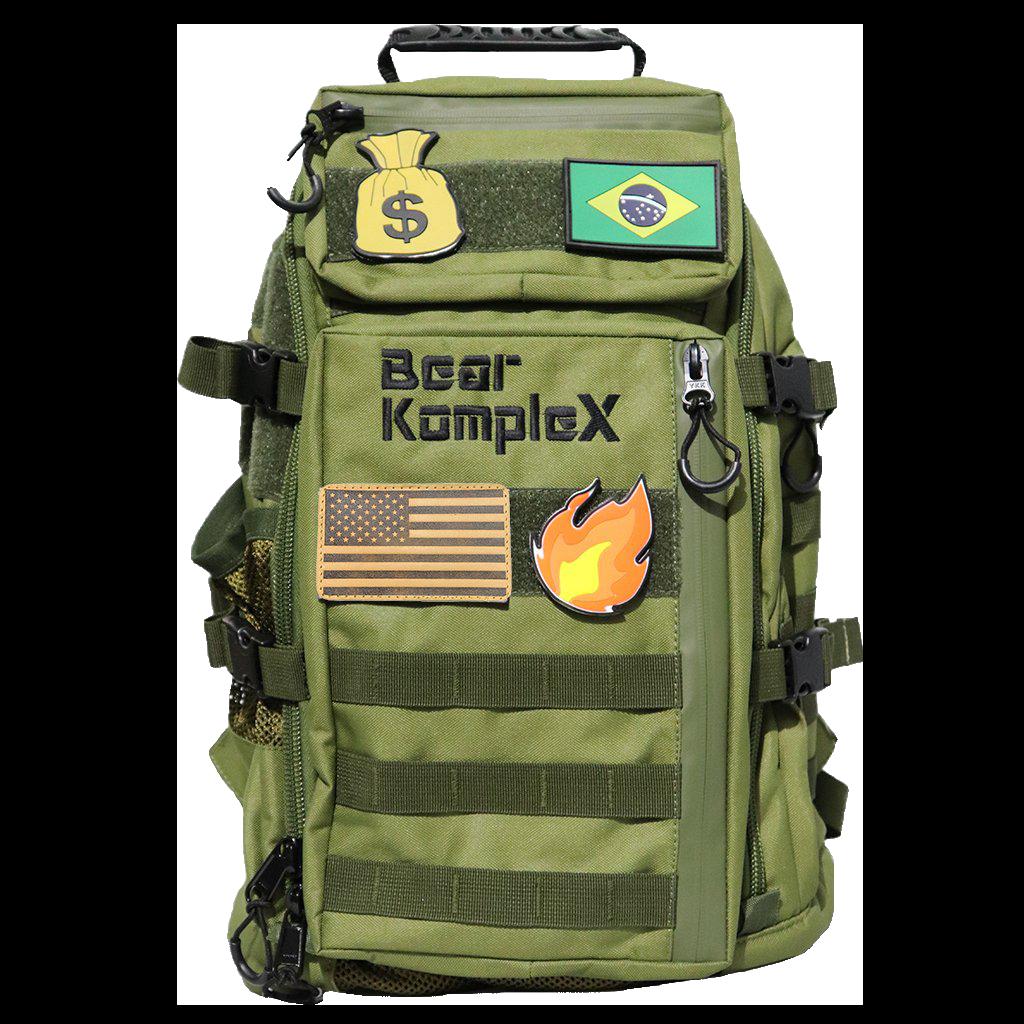 Bear KompleX Backpack Grøn 25 liter