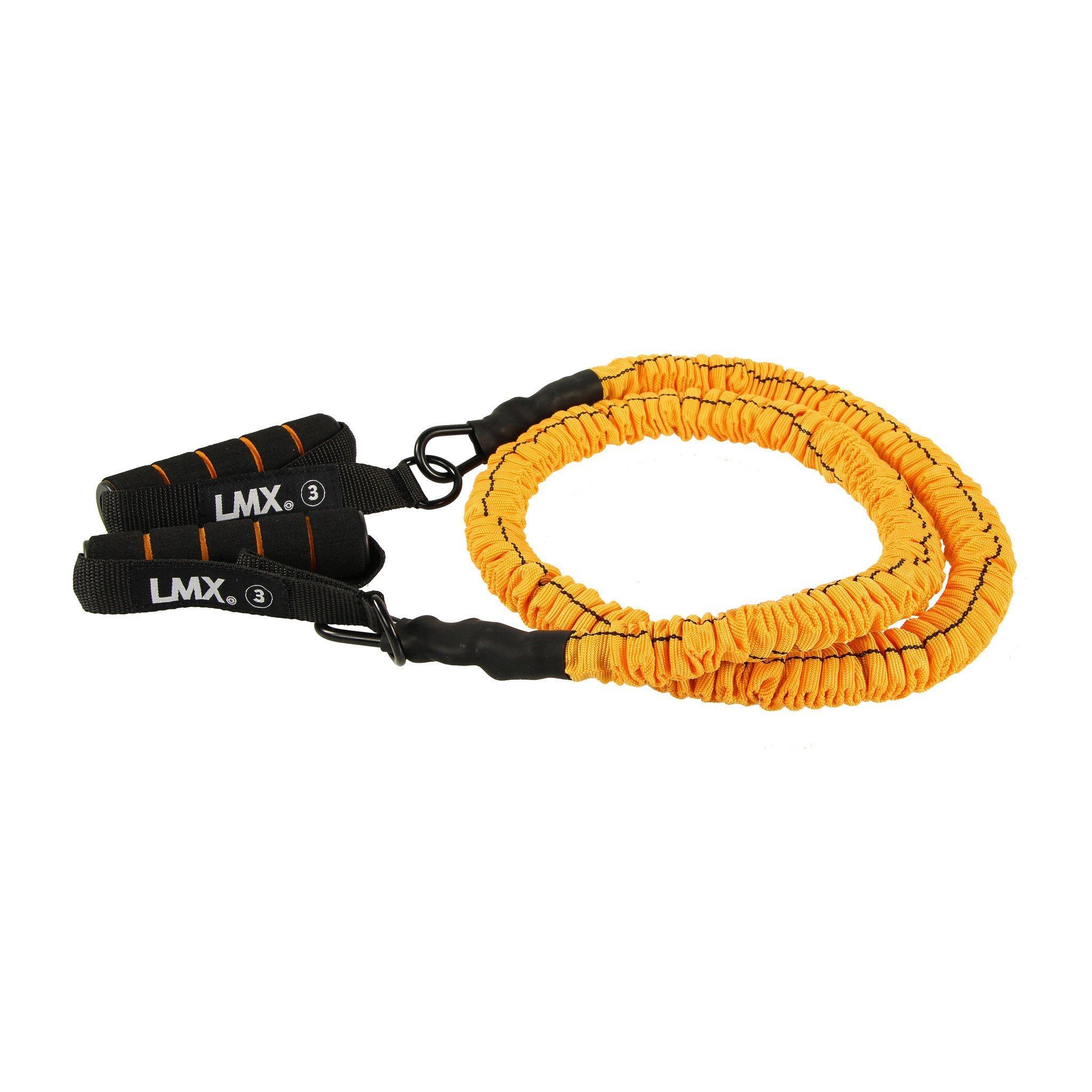 LMX. Power Tube Træningselastik Level 1 Yellow