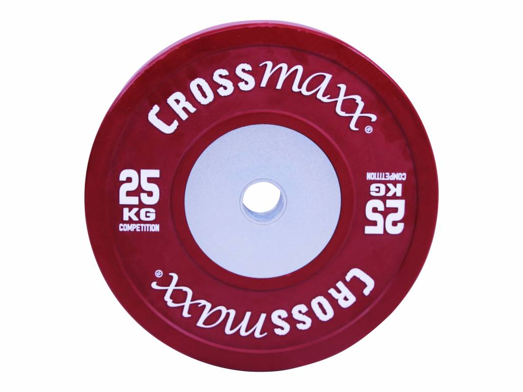 Crossmaxx Competition Bumper Plate 5 kg Black