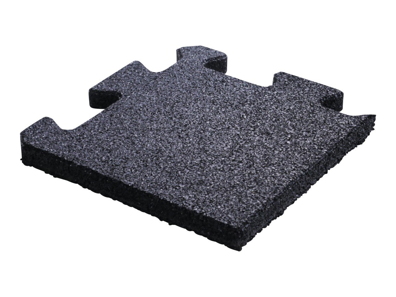 Crossmaxx Jigsaw Gummiflise Hjørne 25 x 25 x 2 cm
