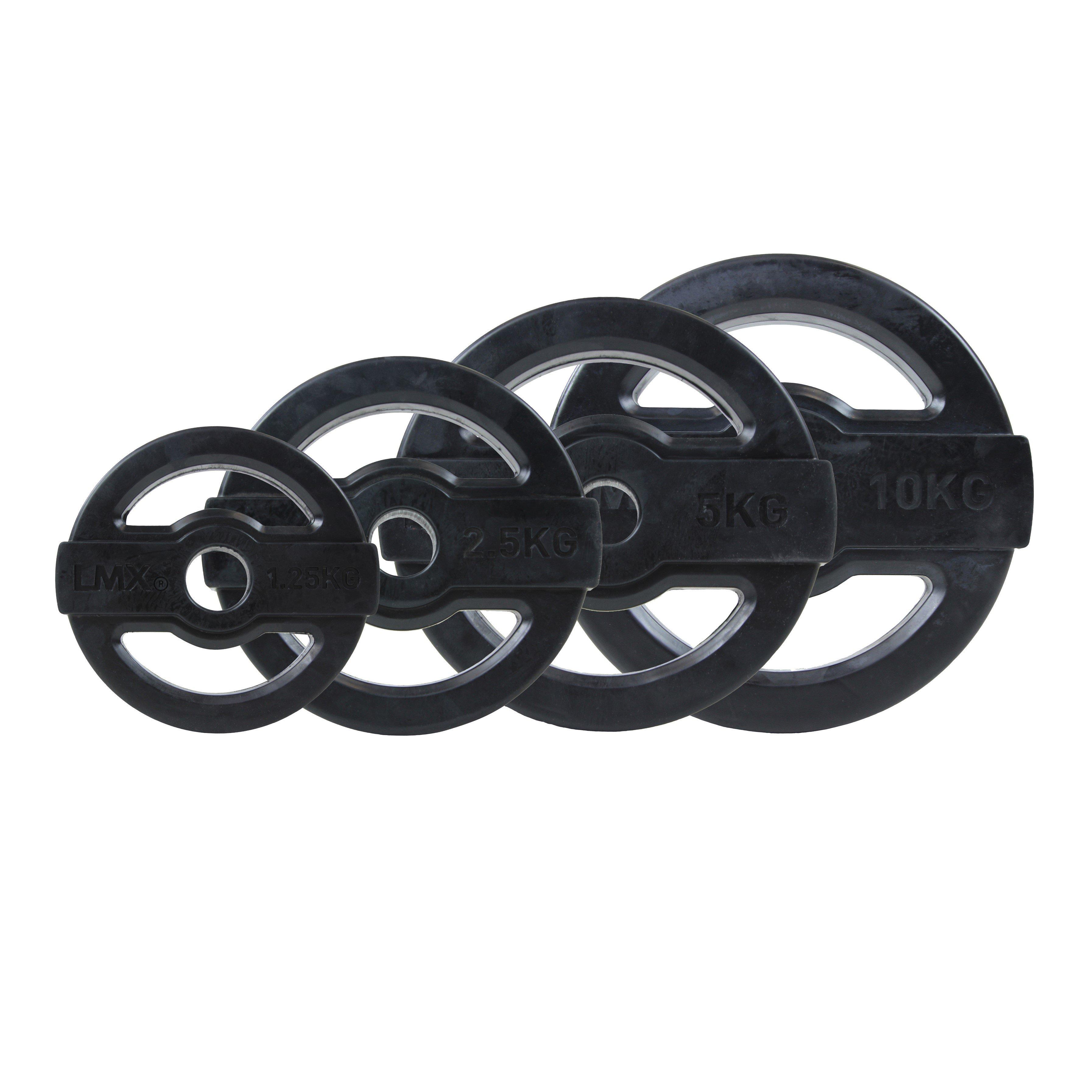 LMX. Studio Bodypump Vægtskive 10 kg Black