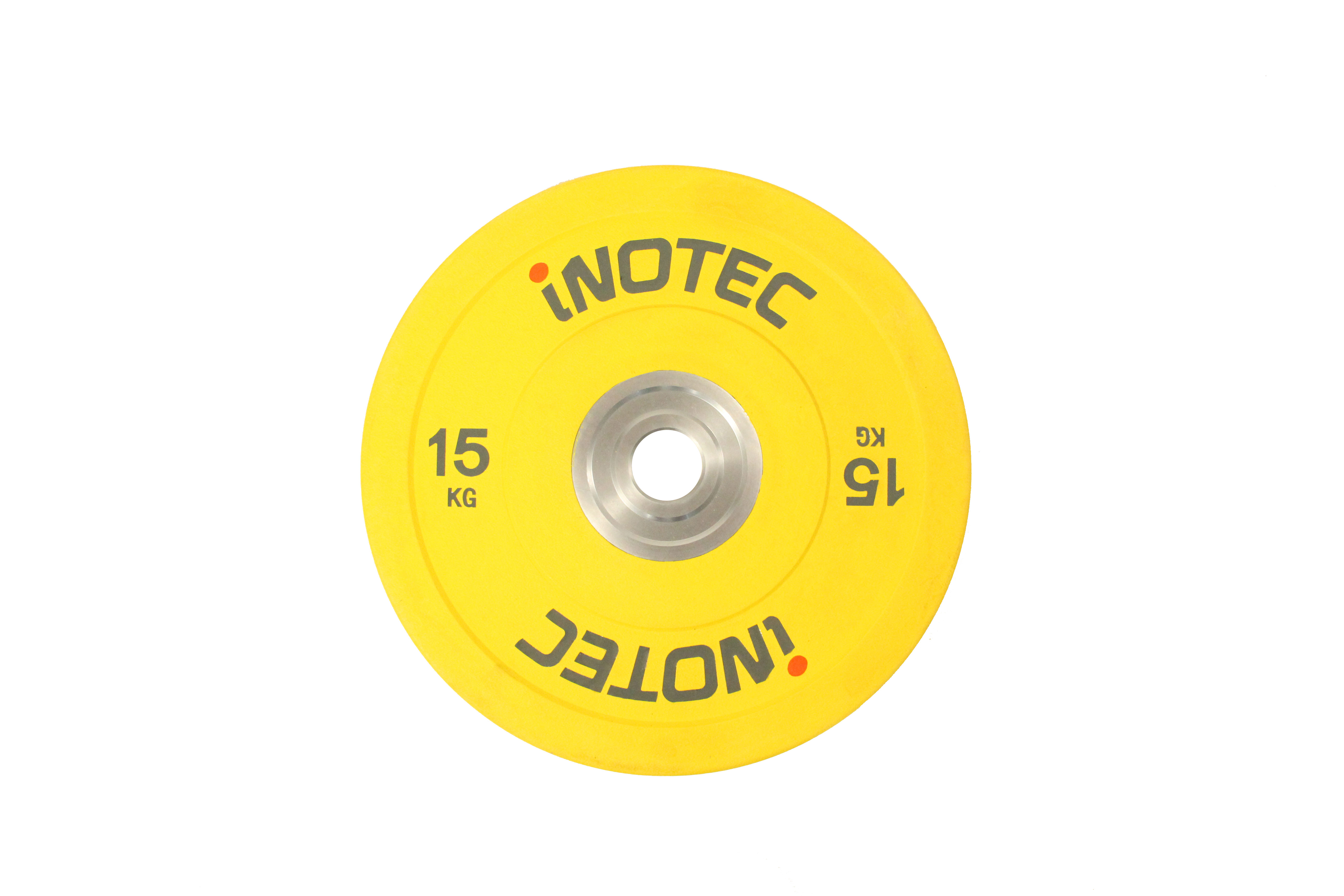 Inotec Competition Bumper Plates 15 kg (Stk.)