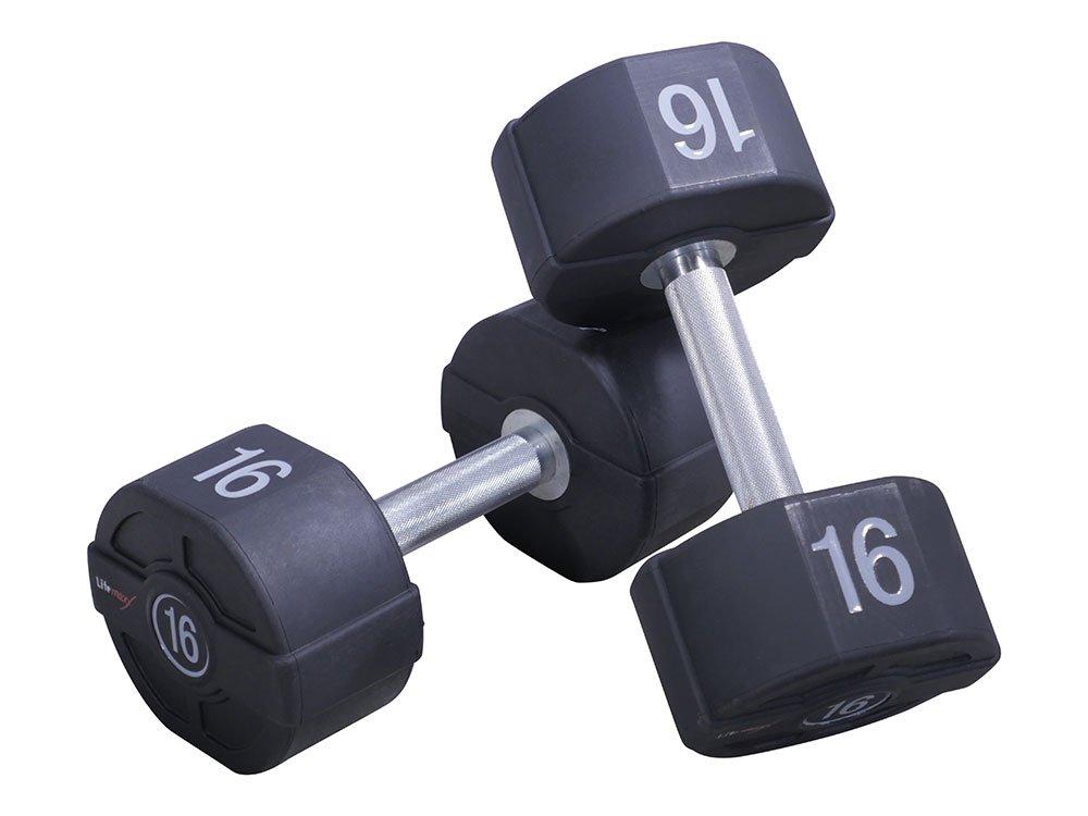 Lifemaxx PU Håndvægt 28 kg (Sæt)