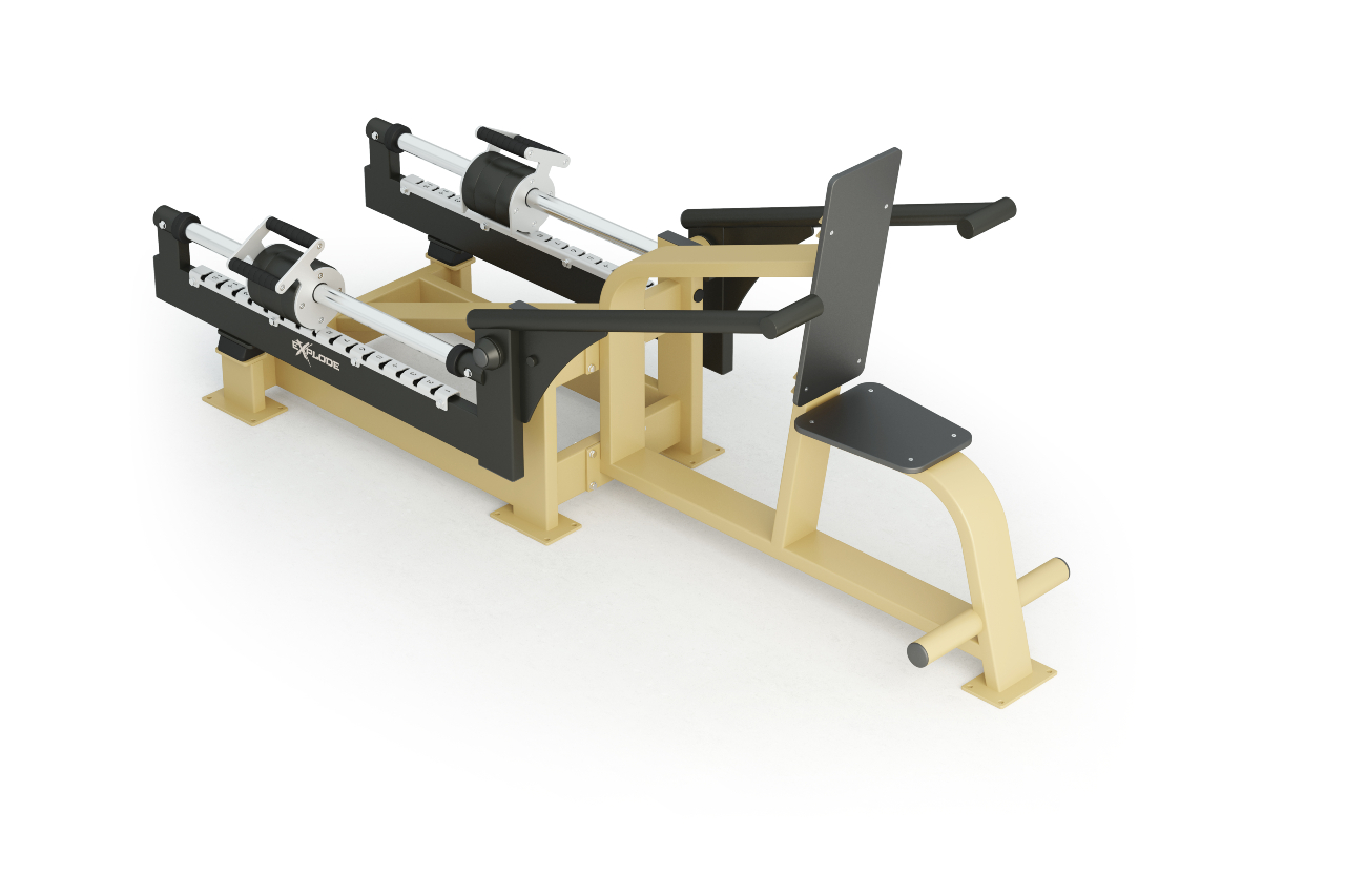 Inter Atletika Triceps Dip Machine Galvanized