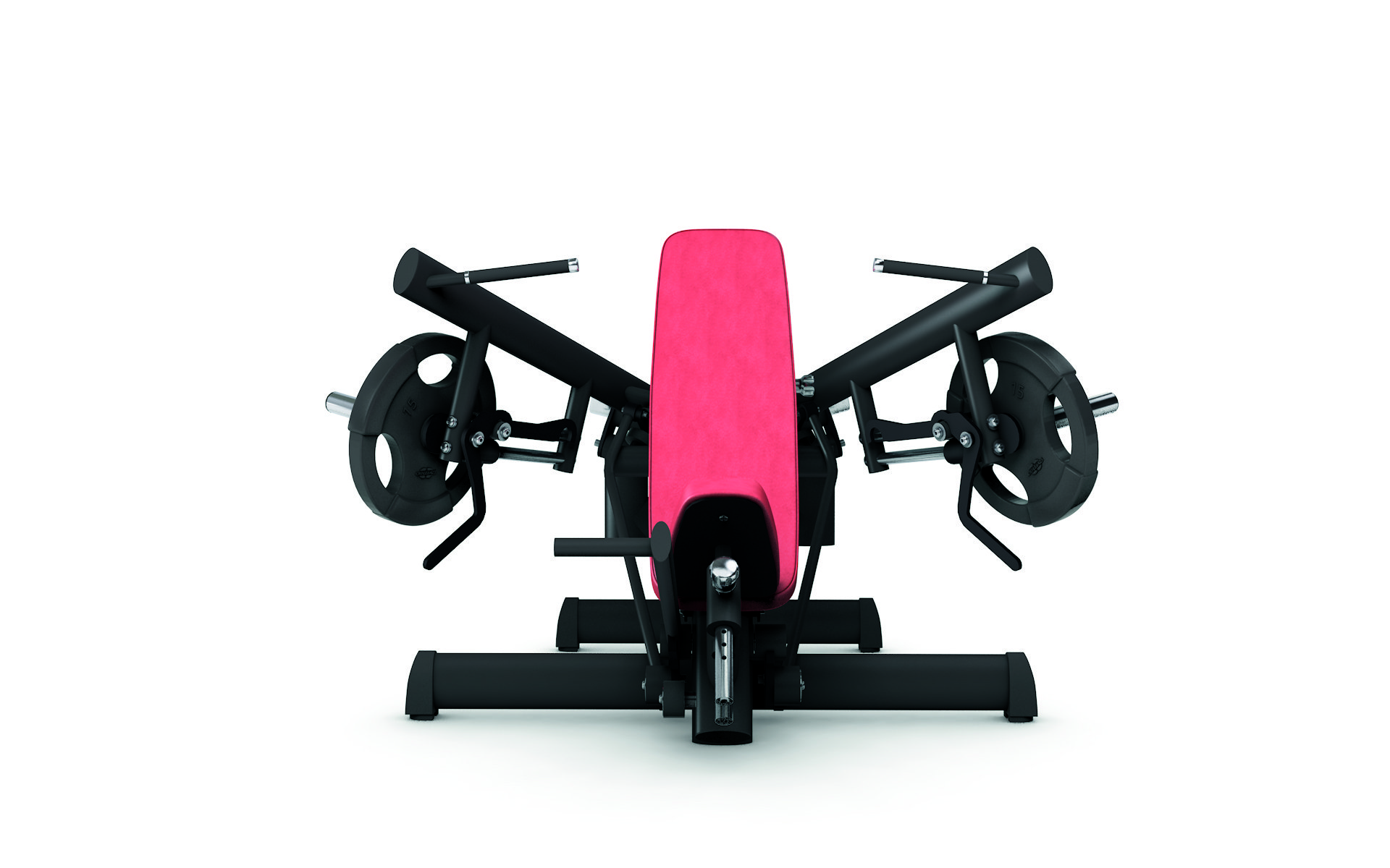 gym80 Pure Kraft Strong Shoulder Press Dual