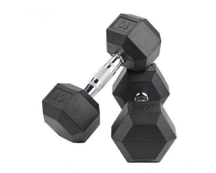 Crossmaxx Hexagon Håndvægt 30 kg (Sæt)