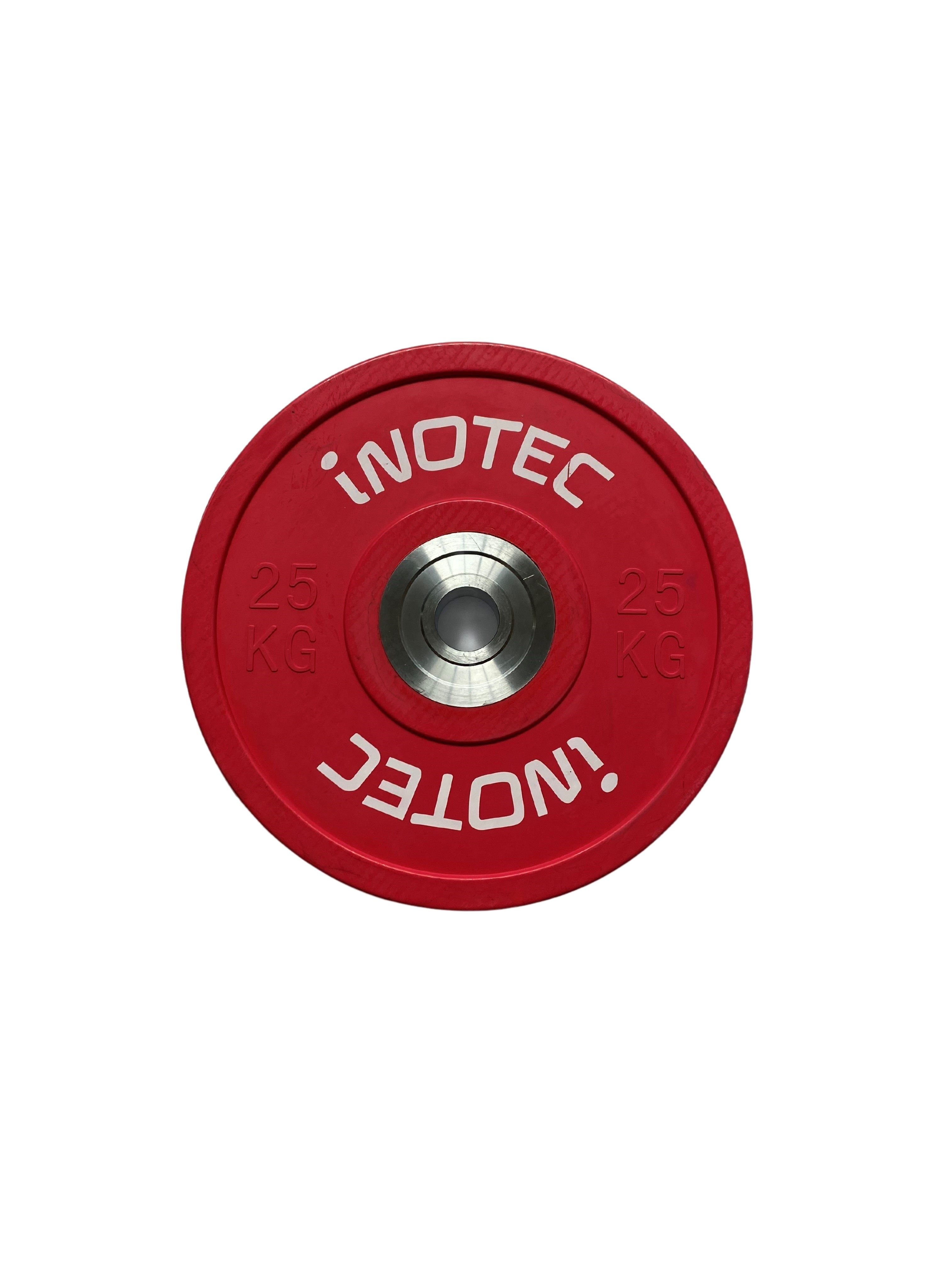 Inotec Competition Bumper Plates 25 kg (Stk.)