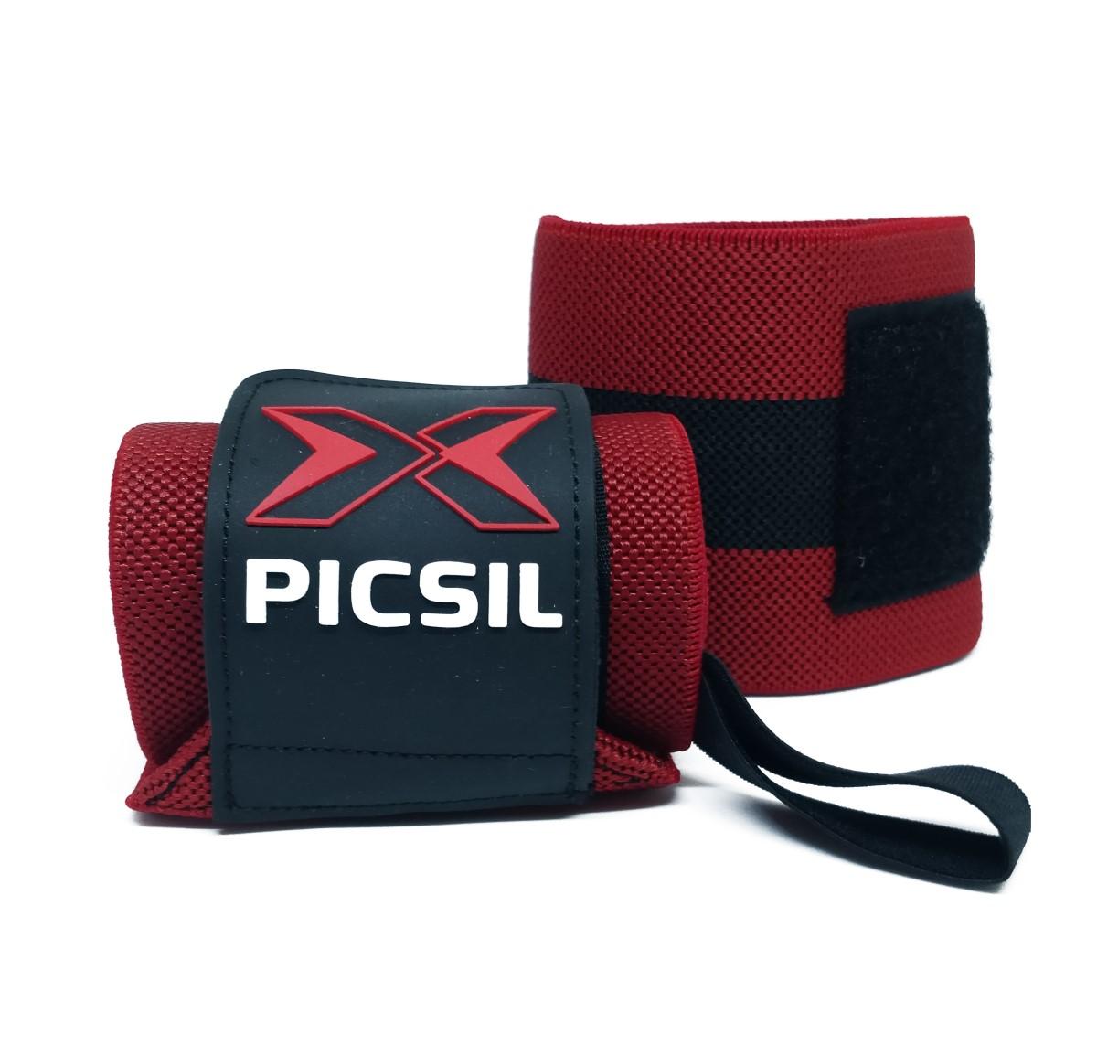 PicSil Wrist Wraps Rød