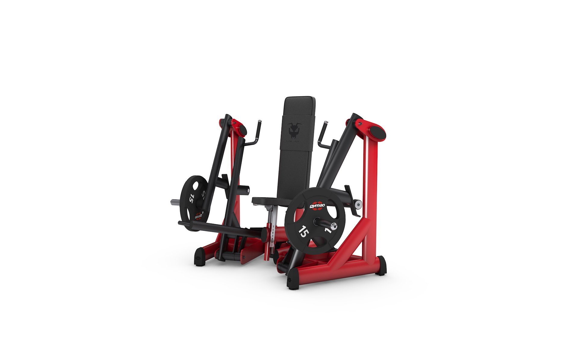 gym80 Pure Kraft Seated Chest Press Dual