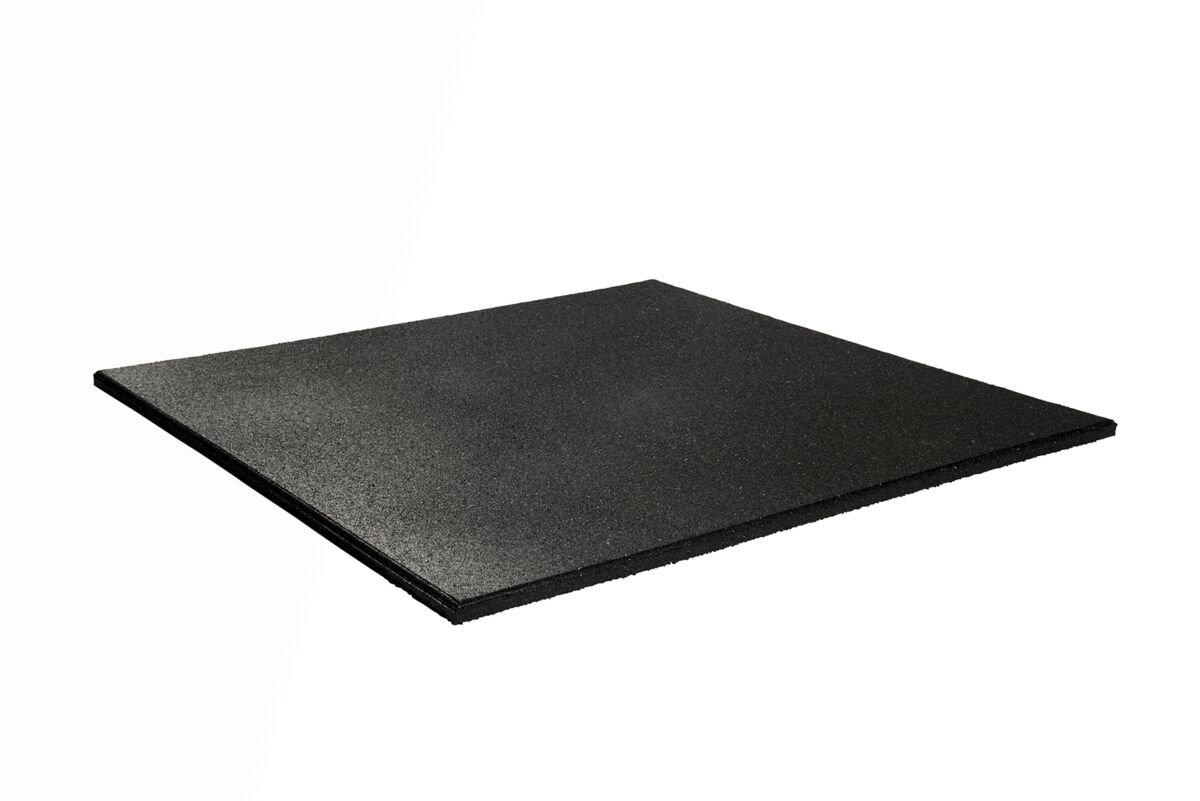 Granuflex Heavy Duty Gummiflise 1000 x 1000 x 20 mm Black