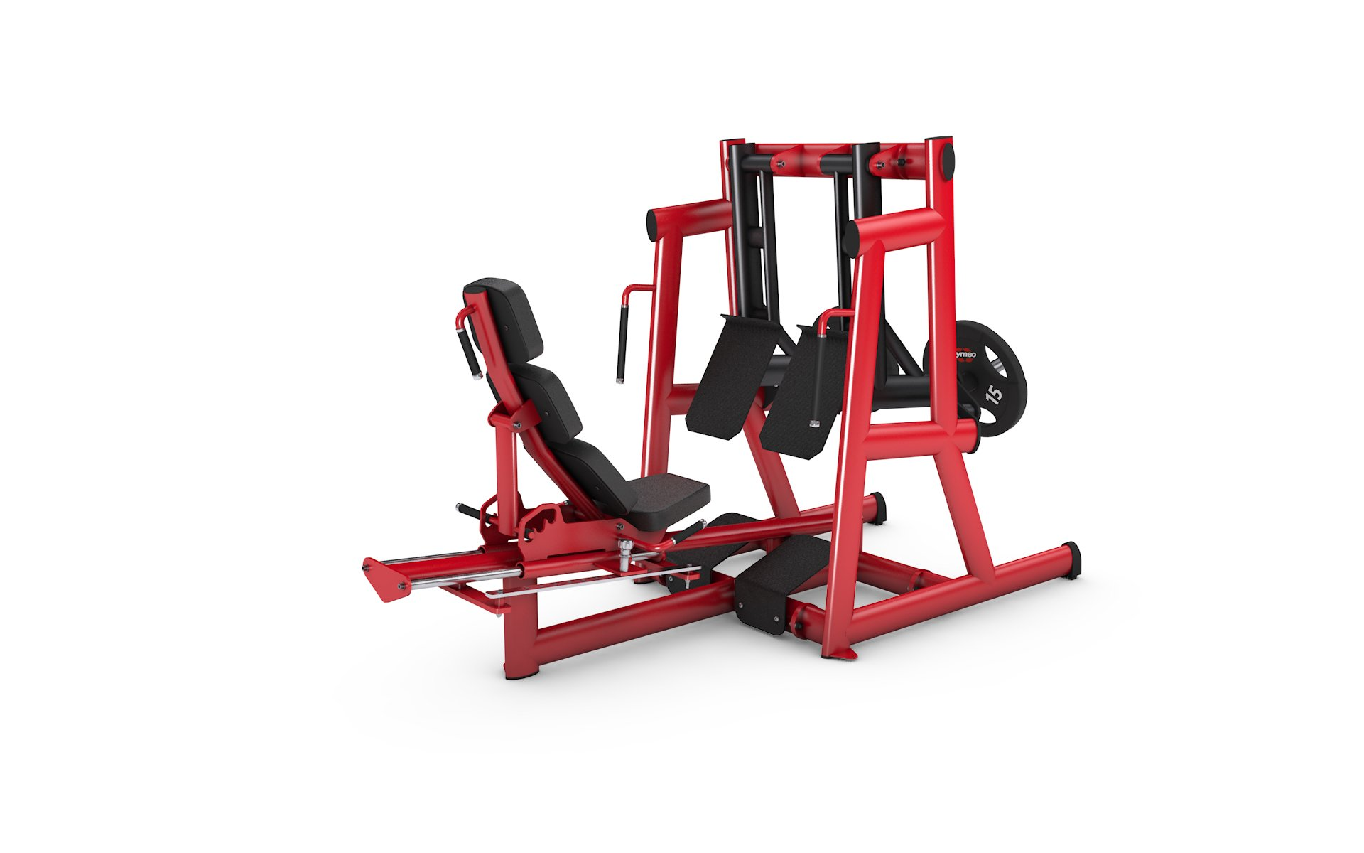 gym80 Pure Kraft Seated Leg Press Dual