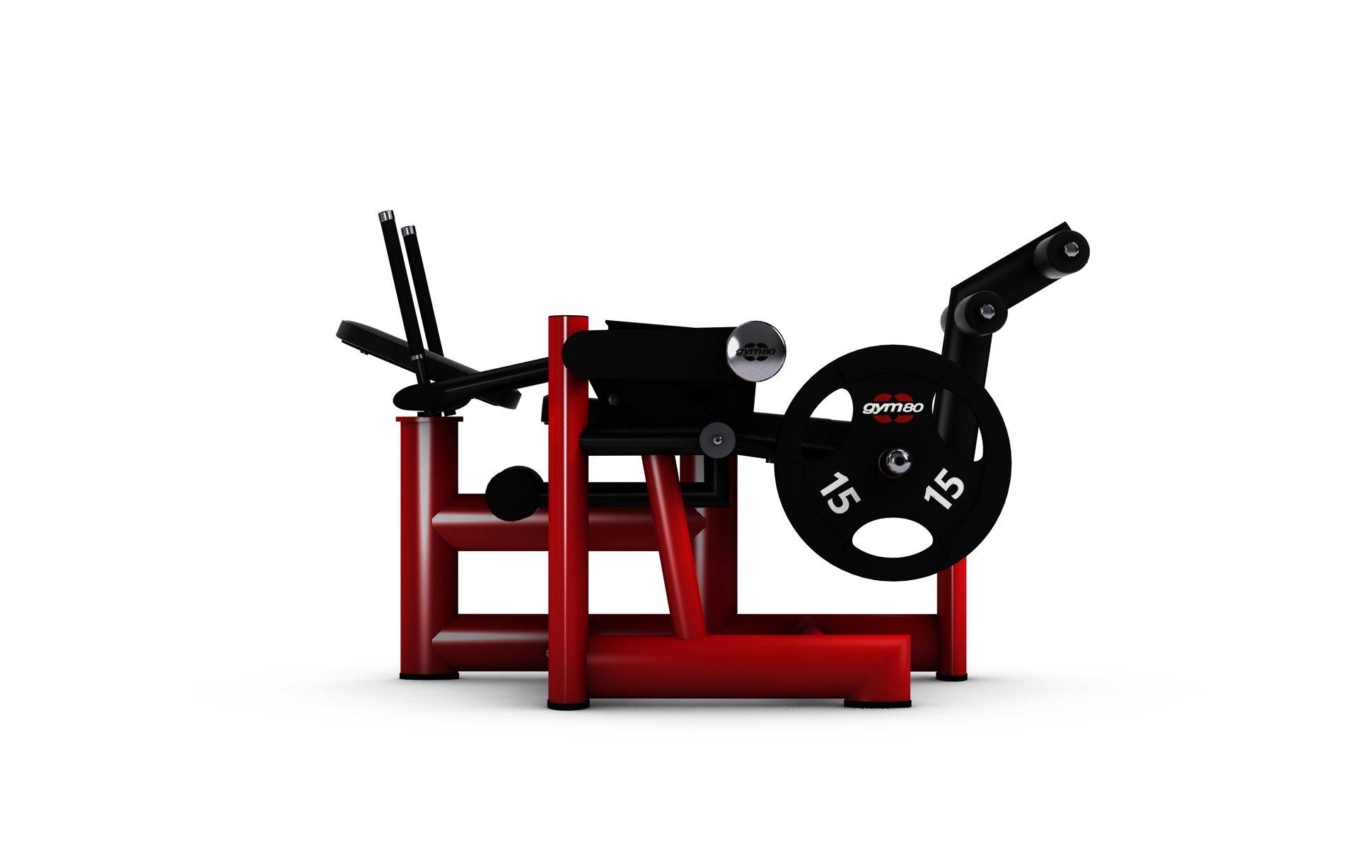 gym80 Pure Kraft Lying Abdominal Bench