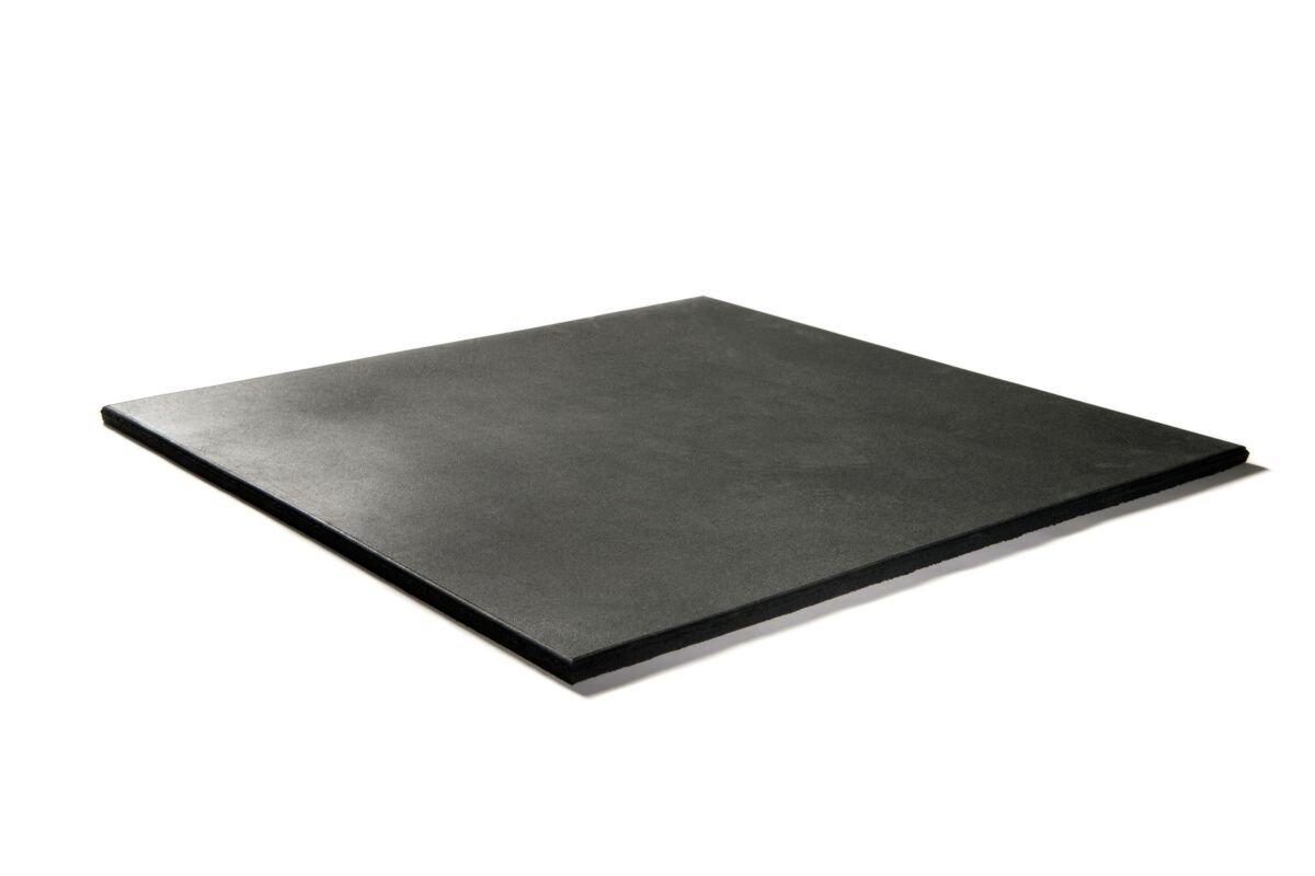 Granuflex Premium Gummiflise 1000 x 1000 x 20 mm Black